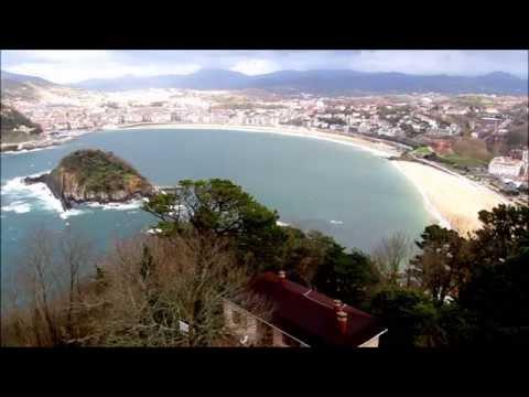 Playa de la Concha de Donostia San Sebastian HD