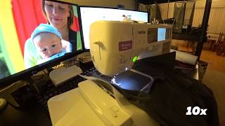 Брендирование рабочей одежды - разбираюсь в швейной машине