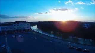 preview picture of video 'DJI Phantom Baja a vizek városa'
