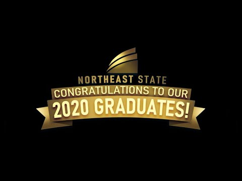 Video: 2020 Northeast State graduation