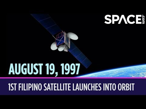 OTD in Space – Aug. 19: 1st Filipino Satellite Launches into Orbit