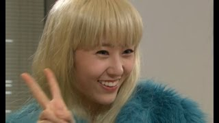 【TVPP】Krystal(f(x)) - Pretending like an American, 크리스탈(에프엑스) - 미국인인척 하는 수정 @ High Kick!