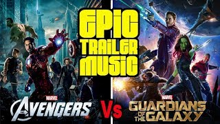 The Avengers Vs Guardians Of The Galaxy (EPIC MashUp)