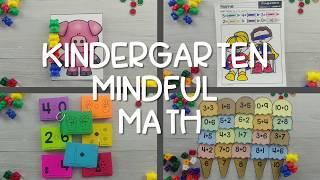 Kindergarten Mindful Math Program