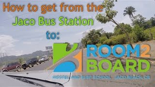 preview picture of video 'How to get to Room2Board, Jaco Costa Rica'