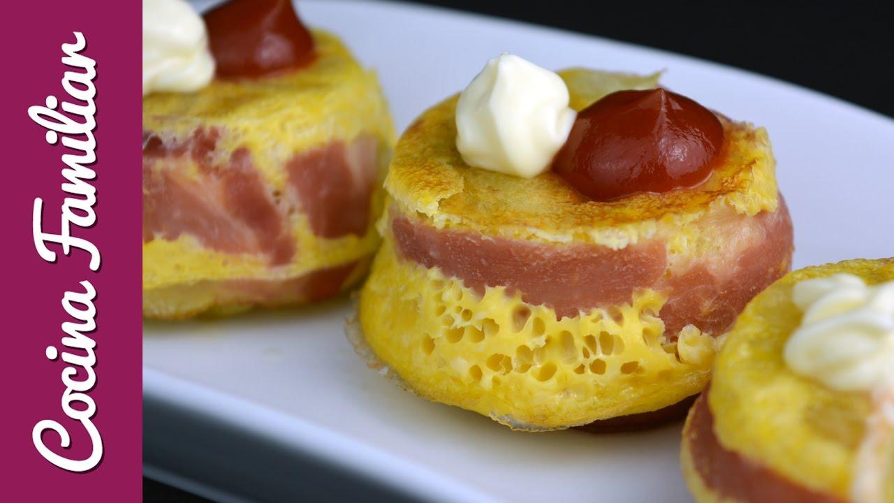 Cupcake de tortilla de patata y beicon | Javier Romero