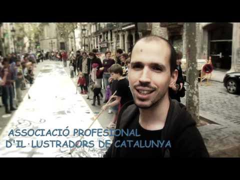 Presentación del Big Draw Barcelona 2011