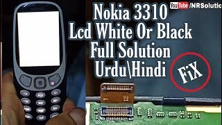 Nokia 3310 White Lcd Fix Lcd Ways -Urdu/Hindi