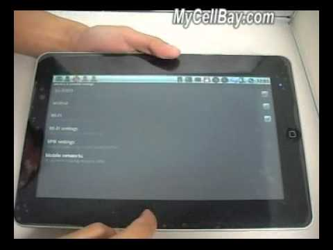 MyCellBay-10.2 Inch M1001 Apad Google Android 2.1 OS 1.0G CPU WIFI G-Sensor MID PC