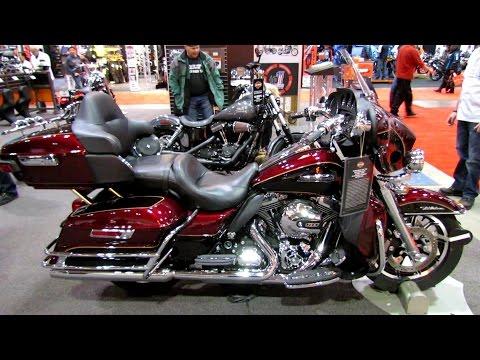 2014 Harley-Davidson Touring Electra Glide Ultra Classic Walkaround - 2014 Toronto Moto Show