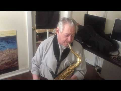 Demo of 75 Year old student- After only 7 lessons. Never improvised before studying my method.