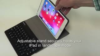Fintie Best Keyboard Cases For IPad Mini 5th Gen 2019 Slim Shell Stand Cover Review