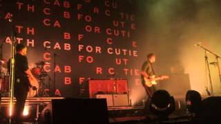 Death Cab for Cutie - Little Wanderer  (Live in St.Catharine's)