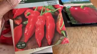 Spring 2019 Seed Starting: Peppers and Herbs (Zone 10)