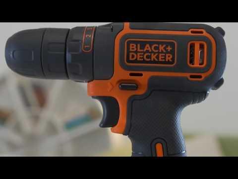BLACK+DECKER - Akku-Bohrschrauber-Kit