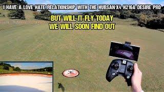 Hubsan X4 H216A Desire Pro Wifi FPV Drone Flight - Will It Fly!