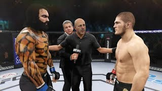 Khabib vs. Aquaman (EA Sports UFC 2)