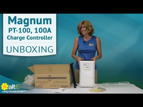PT 100 MPPT Charge Controller by Magnum | Unboxing & Features
