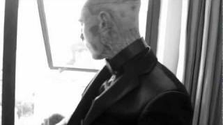 Rick Genest - Zombie Boy, Rick Genest in his hotel room