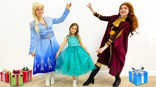 Happy Birthday Sofia! Kids Princess party with Anna and Elsa