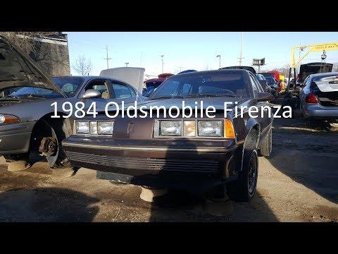 Junk Yard Finds: 1984 Oldsmobile Firenza