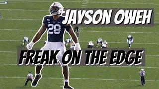 Freak On The Edge!!! 2021 NFL Draft Jayson Oweh (Penn St) Film Study
