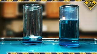 Why Does a Candle Make Water Rise?
