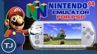 Nintendo 64 Emulator For PSP/PSP GO!