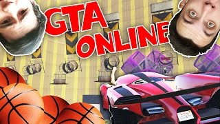 BASKET v GTA?! w/ Ment, Bax, Wedry | GTA Online | HouseBox