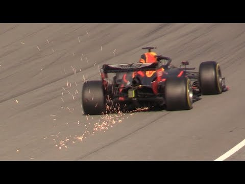F1 2019 PreSeason Barcelona Test Day 2-Ferrari SF90,Mercedes W10,Alfa C38 & More+Gasly Crash
