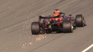 F1 2019 PreSeason Barcelona Test Day 2-Ferrari SF90,Mercedes W10,Alfa C38 & More+Gasly Crash