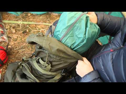Рюкзак «Медведь 120» V2. Видеообзор.