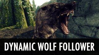 Skyrim Mod: Dynamic Wolf Follower