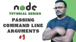 Passing Command Line Arguments Node.js   Part 9 Node Tutorials for Beginners