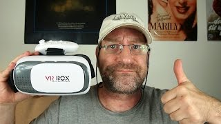 VR Box 2.0 mit BlueTooth Remote Review (19€) - Virtual Reality 3D- Google Cardboard