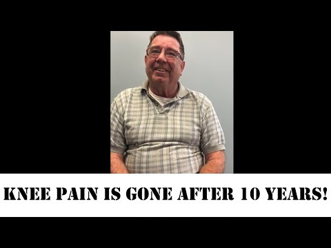Knee Pain Gone After 10 Years