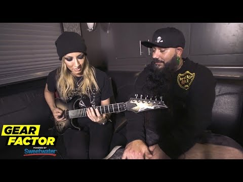 Nita Strauss Plays Her Favorite Riff, Talks Wrestlemania + Triple H