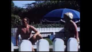 Hollywood Home Movies Pool Party 1950s