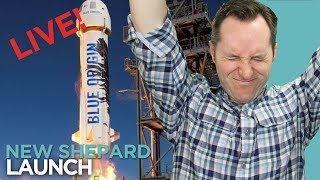 Blue Origin's New Shepard Launch And Other Space Stuff   Wednesday News