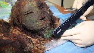 Xác ướp công chúa 1000 tuổi còn nguyên hình hài