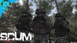 SCUM - Getting More Military Gear and Building Base Camp! E5 SCUM Gameplay