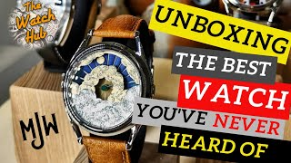 UNBOXING the Nuage watch by Mr Jones Watches (MJW) - is this the best looking watch under £300?