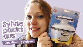 Sylvie packt aus - nützliche Helfer - Das Minibügeleisen
