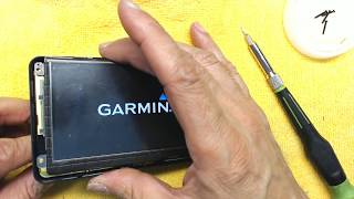 Repairing the USB Port in a Garmin Nuvi 1300 1350 1390 1450 1490 GPS
