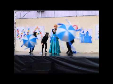文化祭【田舎女子大生のアナ雪が凄すぎる】Frozen parody 2014.11.03