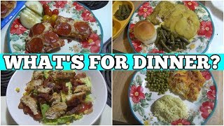 What's For Dinner? | Easy Real Life Budget Meal Ideas