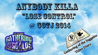 Anybody Killa - Lose Control - Live @ GOTJ 2014