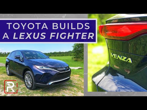 The 2021 Toyota Venza Has You Questioning The Need To Buy a Lexus