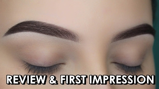 WUNDERBROW Tutorial by An Knook