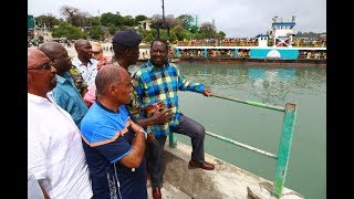 Raila Odinga: I want to give an order here that dredging work stops immediately
